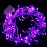 LED Lichterkette Lila