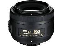 Nikon DX 35mm 1.8G