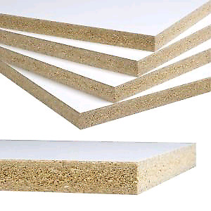 Chipboard white Panel Melamine 50 sheets