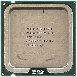 Intel E7300 2.66 ghz Core2Duo CPU 775