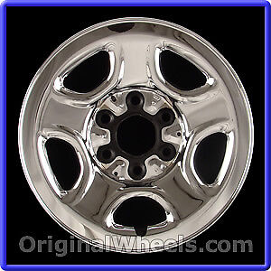 "Four 16"" Chevy Truck Rims"