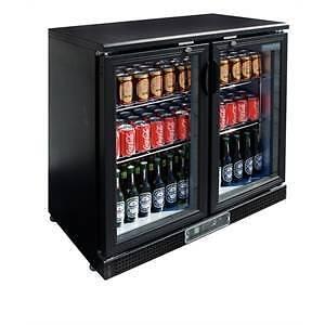 Drinks Fridge - DL816 - Polar Double Hinge Door Back Bar Fridge Campbellfield Hume Area Preview