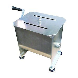 Commercial Manual Meat Mixer -20 Pound/ 10 Liter Capacity Tank