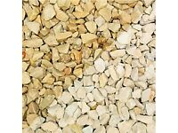 Cotswold Buff Garden Stones/Chips