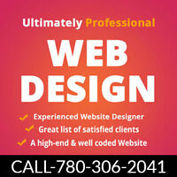 Professional Website Design- Develpment Services Edmonton