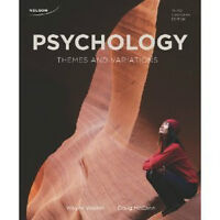 Psychology: Themes & Variations (3rd Canadian Edition) eTextbook
