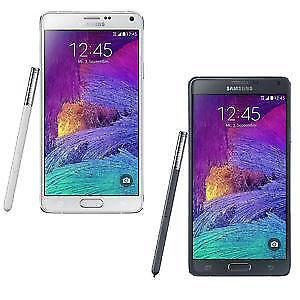 SAMSUNG NOTE 4 BLACK WHITE UNLOCKED 32GB SMARTPHONE