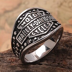 Mens Harley Ring, size 12.