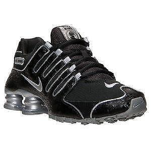 official photos e93fc 89381 Women s Black Nike Shox