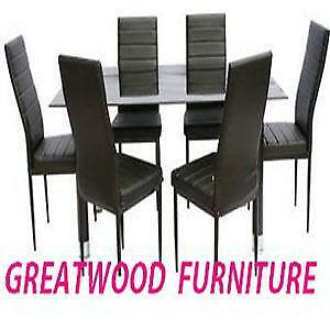 BRAND NEW 7 PIECE  DINING SET .. $299..LIMITED STOCK !!!