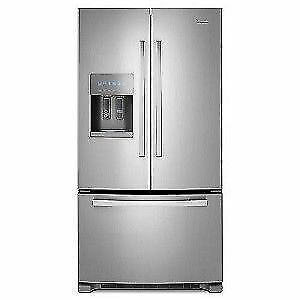 "FRIGIDAIRE GALLERY 36"" COUNTER DEP. FRENCH DOOR FRIDGE"