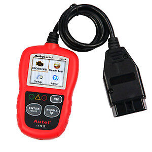 AUTOLINK AL319 OBD2 ENGINE CODE READER WITH LIVE DATA. NEW!