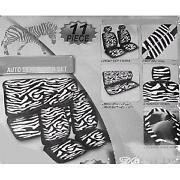 Zebra Car Seat Covers