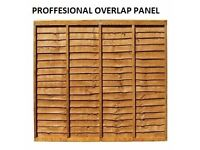 Heavy Duty Close Board Fence Panels & Overlap Fence Panels