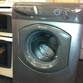 Hotpoint WF340 6kg 1400 Spin Silver Washing Machine 1 YEAR GUARANTEE FREE FITTING