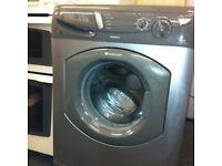 Hotpoint WF340 6kg 1400 Spin Silver Washing Machine 1 YEAR GUARANTEE FREE FITTING