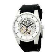 Mens Kenneth Cole Skeleton Watch