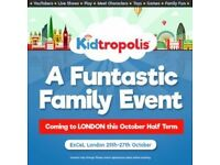 KIDTROPOLIS THE FUNTASTIC FAMILY EVENT