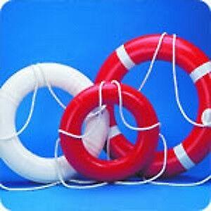 """24"""" LIFE RINGS –RETAIL $99.00 SALE $59.00 -WHITE OR ORANGE    DO"""