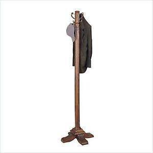 af1a621389 Wooden Standing Coat Rack