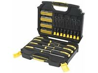 Raptor screwdriver set 55 pieces- Magnetic Tip- NEW