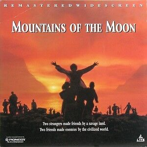 Mountains of the Moon Laserdisc-Remastered Widescreen edition