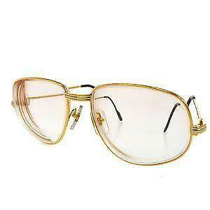 55b08d13097 Cartier Gold Eyeglasses · %CARTIER% Eye-wear Glasses Rimless Wood ...