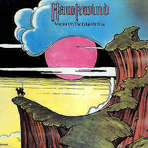 Hawkwind ‎– Warrior On The Edge Of Time. LP . EXC