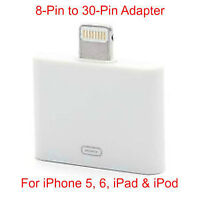 8-Pin to 30-Pin Data/Sync Charging Adapter for iPhone iPad iPod
