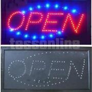 Neonschild Open