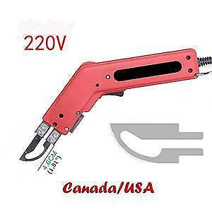 Hand Held 100W 220V Electric Hot Knife Cutter Tool Fabric Leather Heat Cutting Knife(020020)