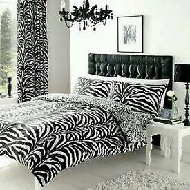 8 pc duvet cover set....king