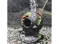 Fish tank classic divers helmet