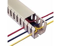 Betaduct Grey PVC Open Slotted Trunking for electrical installations