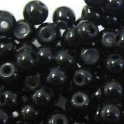 4mm Round Glass Beads