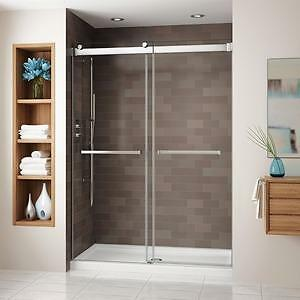 PROMOTION corner and alcove sliding bypass shower, Fleurco
