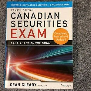 Canadian Securities Exam Study Guide
