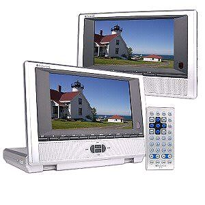 "Polaroid PDM-2727 Two Screen 7"" Car DVD Player Windsor Region Ontario image 1"