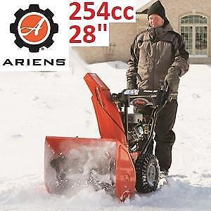 "NEW ARIENS DELUXE 28"" SNOW BLOWER 921046 206350444 GAS SNO THRO ELECTRIC START 2-STAGE 254cc"