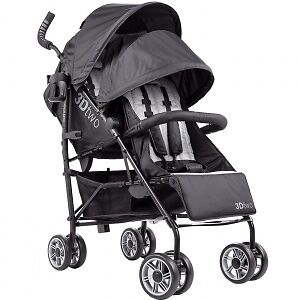 3D Two Double Convenience Stroller By Summer Infant