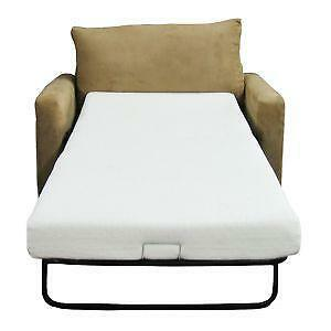 Replacement Futon Mattress Walmart Chair Sleeper Bed