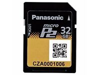 Panasonic Micro P2 32GB - Memory Card