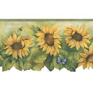 Sunflower Wallpaper Border Ebay