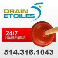 Plombier 24/7 Debouchage de drain - Plumber Clogged Drain 24/7