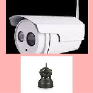 Christmassale Starts Now! 1.3MP Wi-Fi Security Surveillance IP Camera w/ Night Vision /TF–Black,C37A $99.99(Was$119.99),