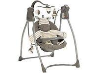 Unisex baby swing £40 ono