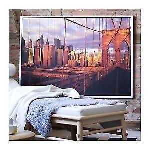 Framed Picture of New York Brooklyn Bridge