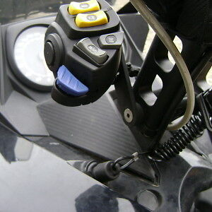 XP Skidoo Handle Bar Switch relocation bracket