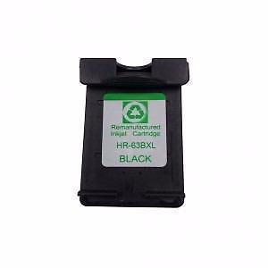 HP 63XL Ink Cartridge Black Remanufactured