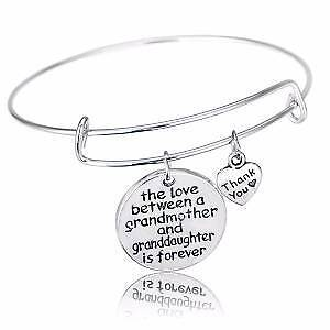 love between a grandmother & granddaughter is forever bangle NEW Gateshead Lake Macquarie Area Preview